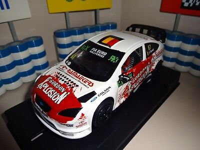 Custom Made Ninco Scalextric Rare Francois Duval Ford Focus Rallycross Slot Car