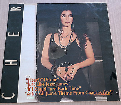 Cher Heart Of Stone Poster 1990