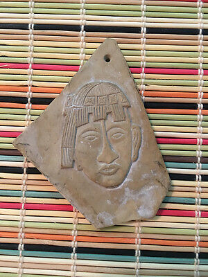 Vintage Bas Relief Fragment, Appears to be MesoAmerican
