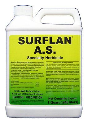 Surflan AS Pre Emergent Herbicide Low Cost Broad Spectrum Lawns & Ornamentals ++