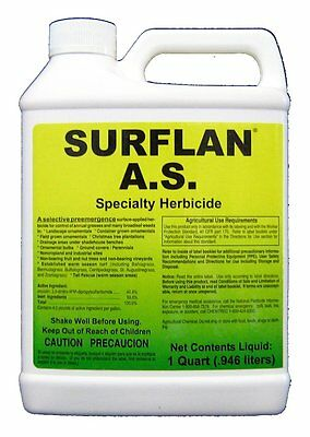 Surflan AS Pre Emergent Herbicide Low Cost Broad Spectrum Lawns & Ornamentals +