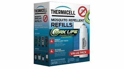 New ThermaCell Max Life Mosquito Repeller Refill - Value Pack
