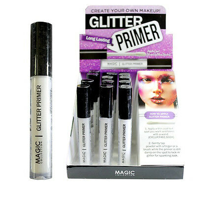 Magic Collection Glitter Primer Eye Lip Face Body Universal Use Eyeshadow