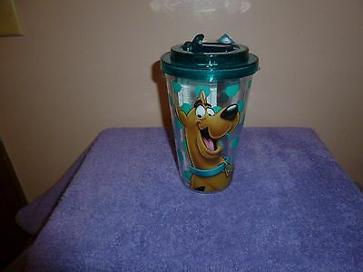 Scooby~Doo Acrylic Cup with Flip Up Spout Brand New