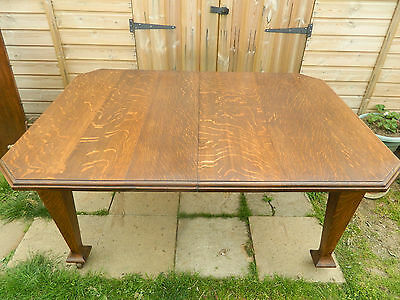 Oak Wind Out Extending Table