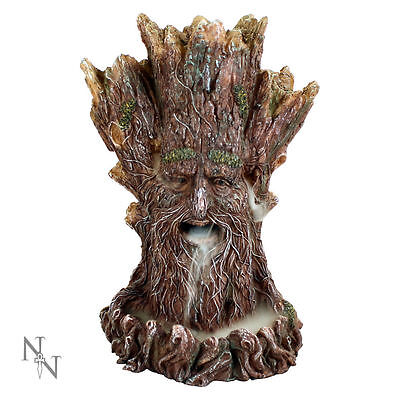 Tree Spirit Backflow Incense Cone Burner High Tower Holder Censer Waterfall Gift
