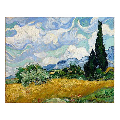 Van Gogh Painting Reproduction Canvas Print Picture Poster Home Decor Art Framed