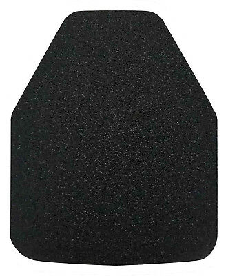 Midwest AR500 Steel Armor Plate Level III, Single Curve, 10x12, Shooters Cut
