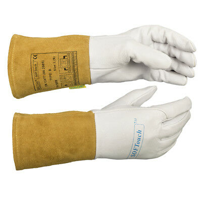 WELDAS SOFTouch, Lightweight Goatskin, TIG Welding Gloves, HIGH QUALITY