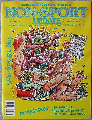 NON-SPORT UPDATE  Volume 4 No.1 Published Quarterly Jan-Mar 1993