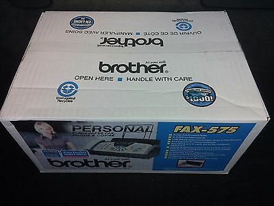 Brother Personal Plain-Paper Fax Machine 575