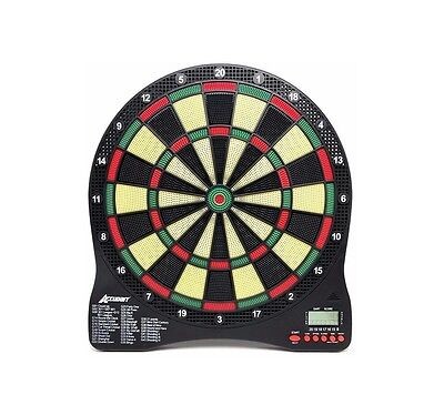 Accudart eX1000 Electronic Dartboard 43 Games 200 Variations Requires Batteries