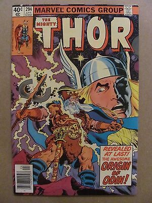 Thor #294 Marvel Comics 1966 Series
