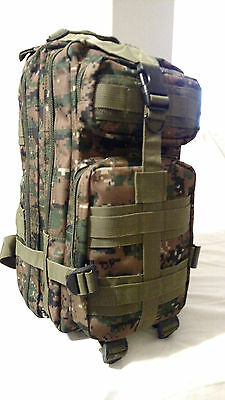 Tactical Hunting Camping Hiking Backpack  Cp
