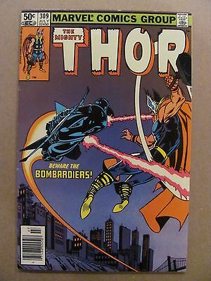 Thor #309 Marvel Comics 1966 Series NEWSSTAND EDITION