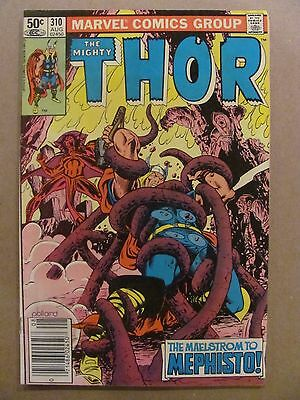 Thor #310 Marvel Comics 1966 Series NEWSSTAND EDITION