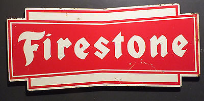 Vintage  FireStone Tire Stand Sign