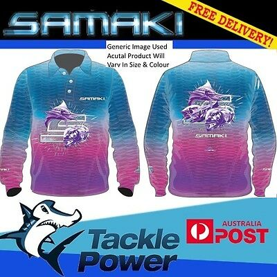 Samaki Long Sleeve Fishing Shirt Dreamcatcher - Adult and Child Sizes - NEW!