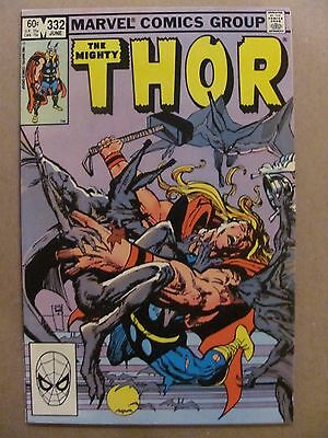 Thor #332 Marvel Comics 1966 Series Dracula app 9.2 Near Mint-