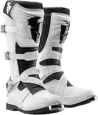 Thor Botas S12 Ratchet White 7