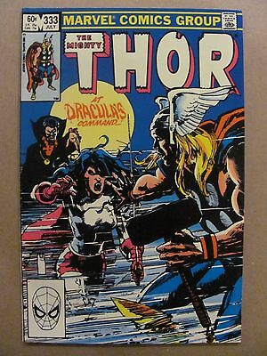 Thor #333 Marvel Comics 1966 Series Dracula app 9.2 Near Mint-