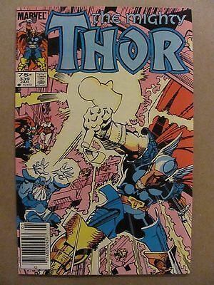 Thor #339 Marvel Beta Ray Bill app Canadian Newsstand $0.75 Price Variant 9.2 NM