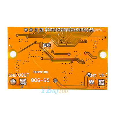 LCD Display +DC-DC Adjustable Buck Thermal Push-button Module  Step-down  Power