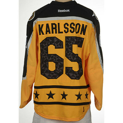 Erik Karlsson Ottawa Senators 2017 All-Star Game Used Jersey