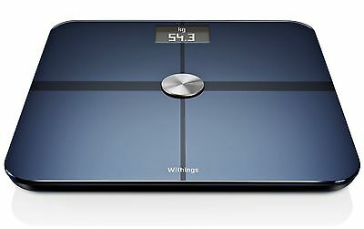 Withings Wi-Fi Body Digital Weight Fat & Lean Mass Smart Connected Body Scale