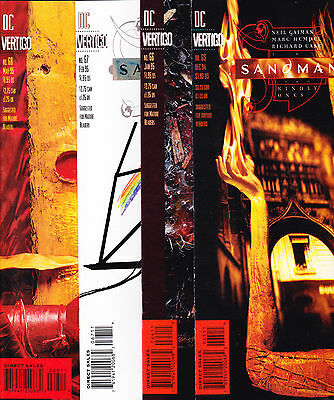 The Sandman 65 66 67 68 comic lot 1994 Full Run Neil Gaiman McKean Hempel NM