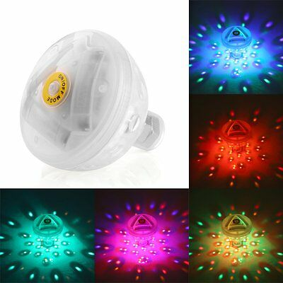 Underwater LED Light Glow Pond Swimming Pool Floating Lamp Bulb Child Toys Babys