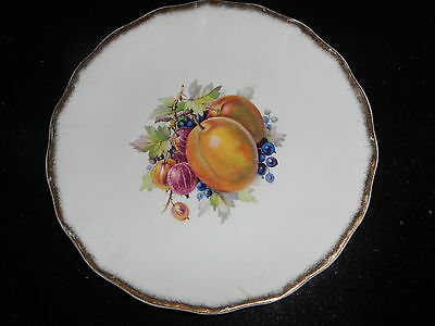 Royal Staffordshire Dinner Ware By Clarice Cliff * England * 1 Plate Fruit