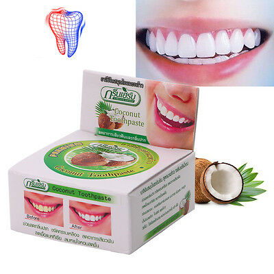 Thailand Coconut Toothpastes Herbal 10g Clove Toothpaste Teeth Whitening Care