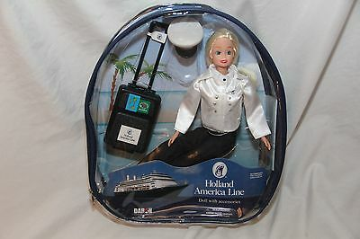 Holland America Line Doll with Accesories