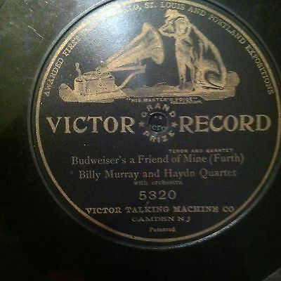 RARE V+ BILLY MURRAY - BUDWEISER'S A FRIEND OF MINE on 1 SIDED VICTOR 5320