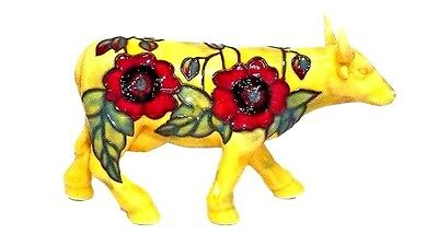 Old Tupton Ware Ceramic BULL COW STEER Poppy Collection TW1520-B New  Free Ship