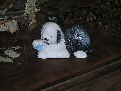 Old English Sheepdog From Hevener Figurines