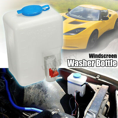12V Universal Windscreen Washer Pump Bottle Kit Jet Switch for VW Classic Car