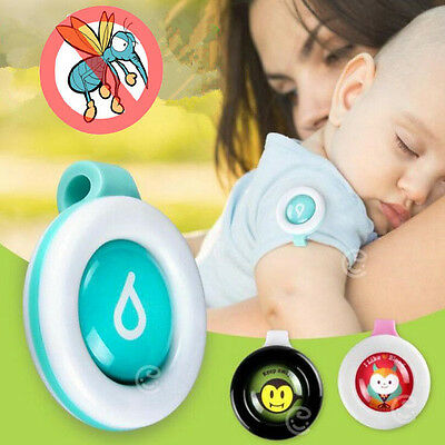 Anti Mosquito Buckle Bug Pest Insect Repellent Clip Outdoor For Adult Child