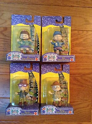 Set Of 4 Rugrats Nickolodeon The Movie Figures NRFB Tommy, Chuckie, Phil, Lil