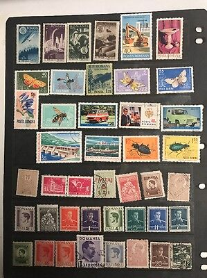 stamps  Romania -  MLH and Used - Lot 431