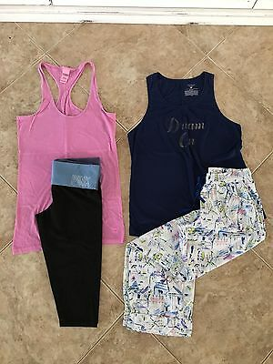Lot VS PINK & Victorias Secret Sm Yoga Pants, Tanks, And Pj Or Beach Pants