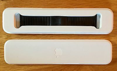 Genuine Apple Link Bracelet 38mm 316L Space Black with Butterfly Closer, RRP 549