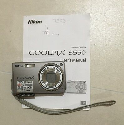 Coolpix camera with instruction booklet
