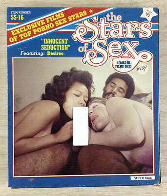 8mm Adult Film The Stars of Sex Series III Films 16-23 Super 8 Color SS-16