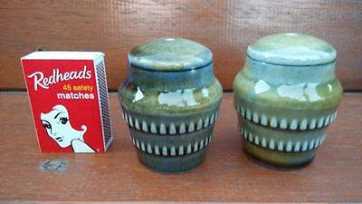Vintage Collectable Wade Irish Porcelain Salt Or Pepper Shakers 2 Pieces