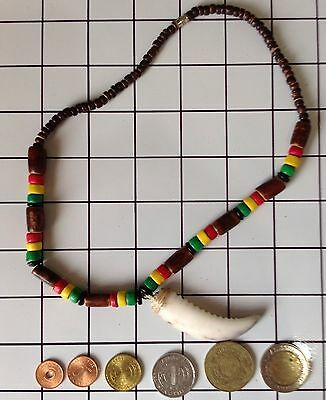 Ifugao Tribal Crab Claw Bone Necklace. Tribal Claw Necklace & Coin Collection 36