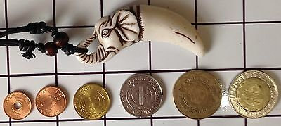 Ifugao Tribal Tree Resin Elephant Necklace  Ifugao Turtle & Coin Collection 39