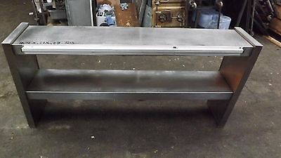 Commercial All Stainless Steel Single Tier Chefs Pass Heated Gantry---240 V