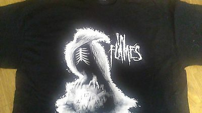 In Flames tour shirt(defenders of the faith 2011(xl)